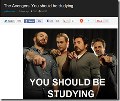 The avengers You Should Be Studying