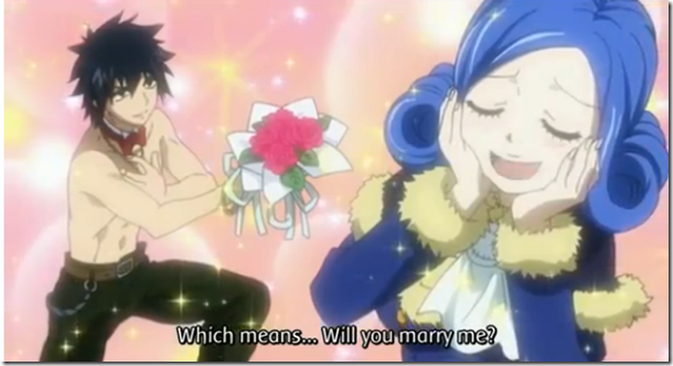 Will you marry me Gray Juvia 2-b
