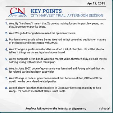 City News 17 April 2015 Afternoon 1