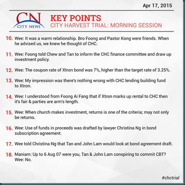 City News 17 April 2015 Morning 2