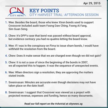 City News 29 Apr 2015 Afternoon