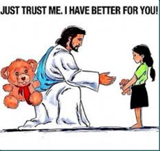 Lord Jesus and the bear