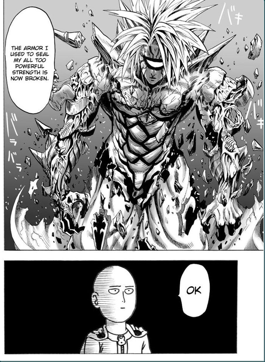 saitama vs boros