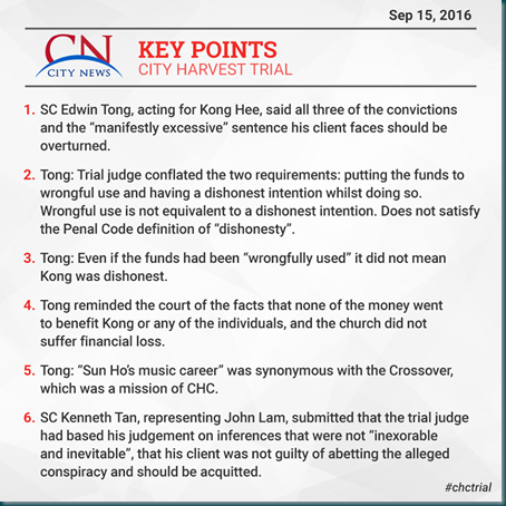 CHC Trial 15, September, 2016
