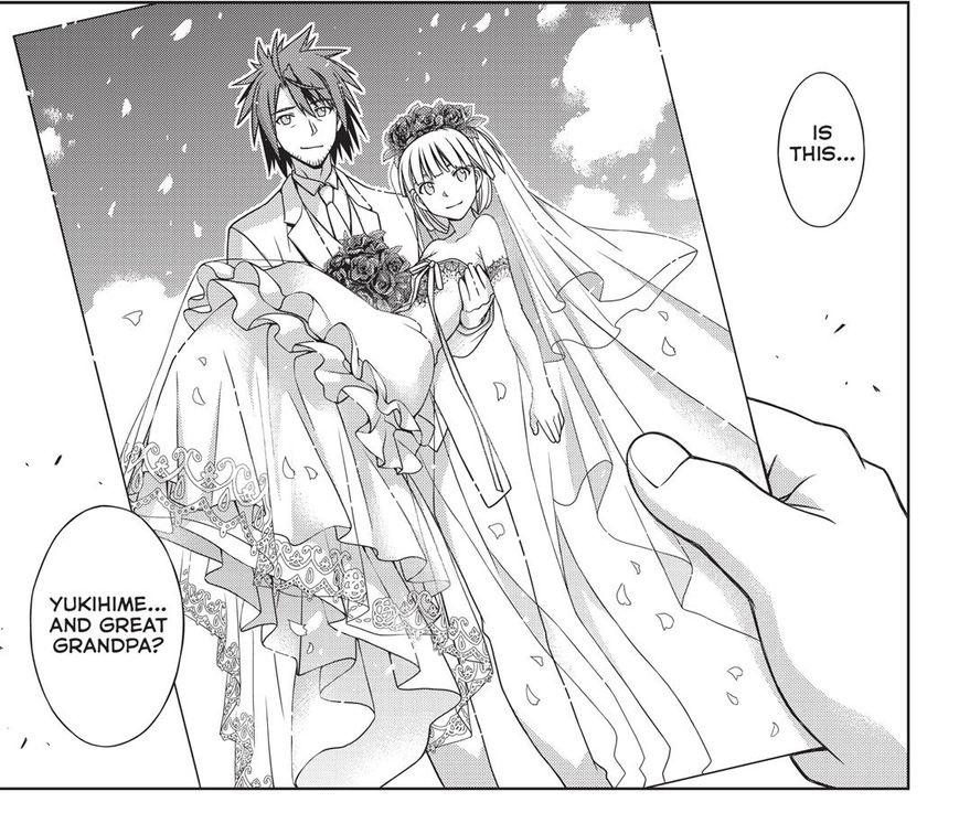 Nagi and Yukihime UQ Holder